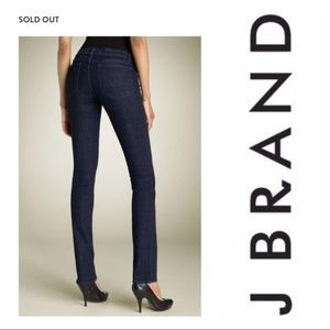 J BRAND Low Rise Straight Leg Jeans 26